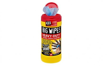Big wipes Heavy Duty 4X4, 80 tørk